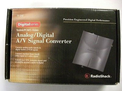 RadioShack Analog/Digital A/V Signal Converter Cat#150-1242