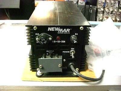 NEWMAR 115-12-35A Heavy Duty Power Supply & Battery Charger / 13.6 VDC @ 15 A