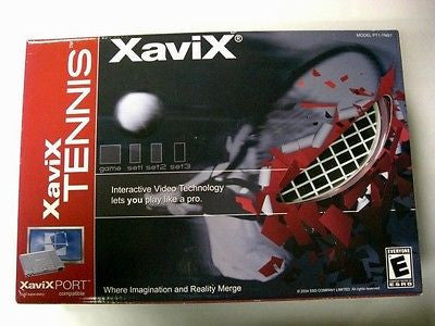 Xavix Tennis Game Model# PT1-TNS1