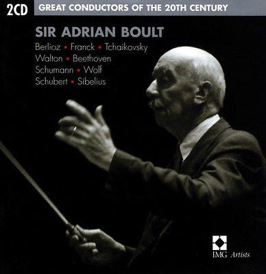 Sir Adrian Boult (CD, Sep-2002, 2 Discs, EMI Music Distribution)