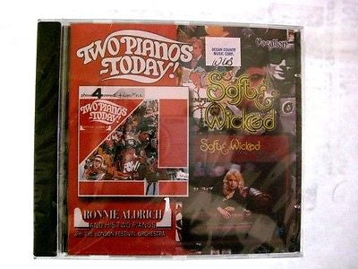 Two Pianos Today/Soft and Wicked by Ronnie Aldrich (CD, Nov-2003, Dutton...