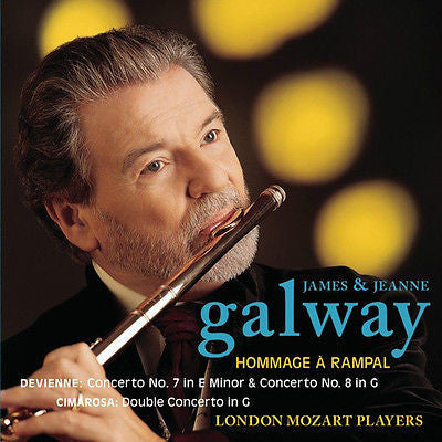Hommage à Rampal - Devienne, Cimarosa /James & Jeanne Galway by James Galway...