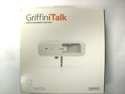 Griffin Technology 4020-TALK iTalk Voice Recorder for iPod