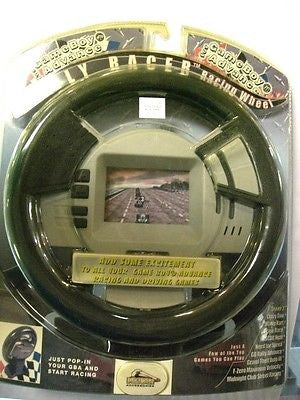 Gameboy Advance Rally Racing Wheel by Pelican Accessories PL-7718