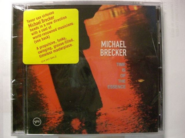 Time Is of the Essence by Michael Brecker (CD, Oct-1999, Verve)