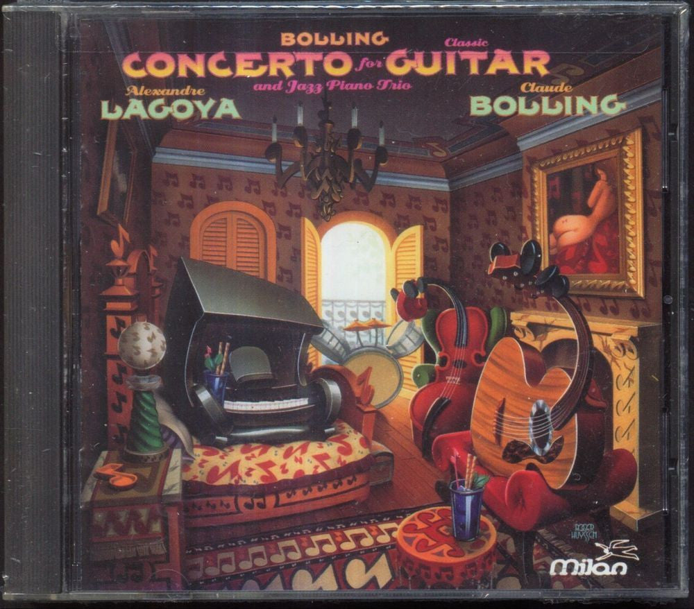 Bolling: Concerto for Guitar and Jazz Trio / Lagoya, Bolling by Alexandre Lagoya