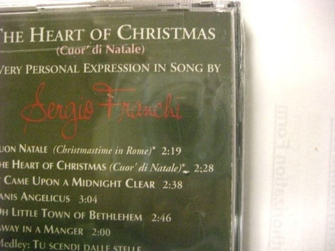 the heart of christmas cuor di natale by sergio franchi cd