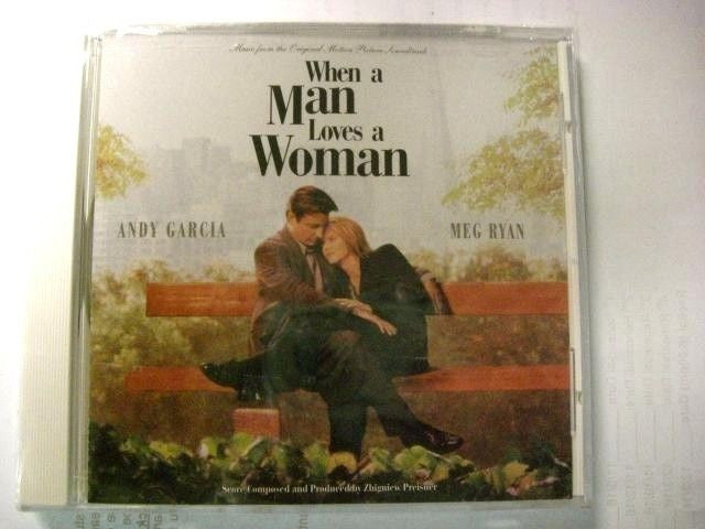 When a Man Loves a Woman [Original Soundtrack] by Zbigniew Preisner (CD, May-199