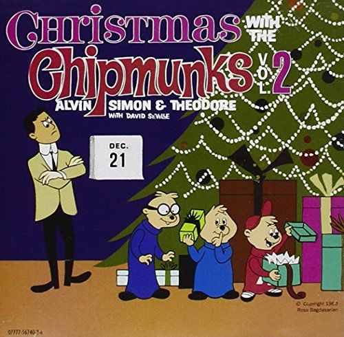 Christmas with the Chipmunks, Vol. 2 [EMI-Capitol] by The Chipmunks (CD, Sep-199