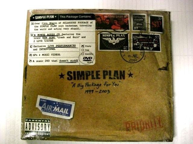Simple Plan - A Big Package For You DVD with Bonus CD Explicit Lyrics