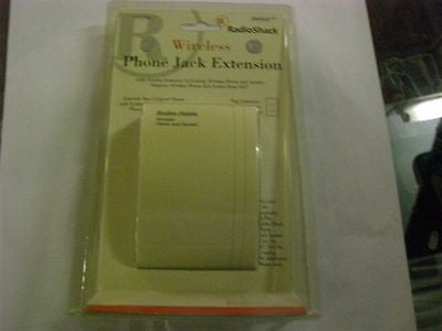 RadioShack Wireless Phone Jack Extension Cat# 430-0161