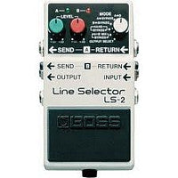LS-2 Line Selector/Power Supply Pedal