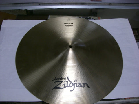 "Used Avedis Zildjian 18"" Medium Crash"