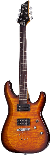 Schecter C-6 Plus Sunburst Electric Guitar
