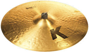 "Zildjian K0830 22"" K Series Dark Medium Ride Cymbal"