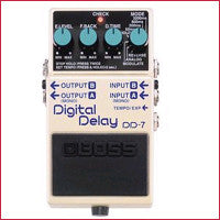 DD-7 Digital Delay Pedal Demo Model