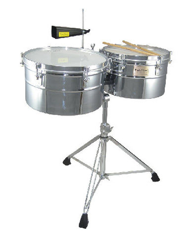 "14"" & 15"" DEEP SHELL CHROME TIMBALES"