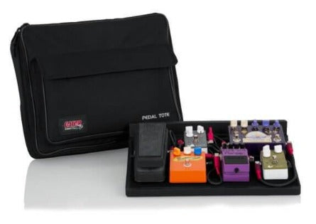 Gator GPT-BL-PWR - Pedal Board with Carry Bag & Power Supply