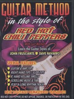 Guitar method in the style of Red Hot Chili Peppers with Curt Mitchell