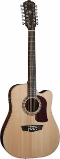 Washburn Heritage Series 12 String Acoustic Electric Guitar