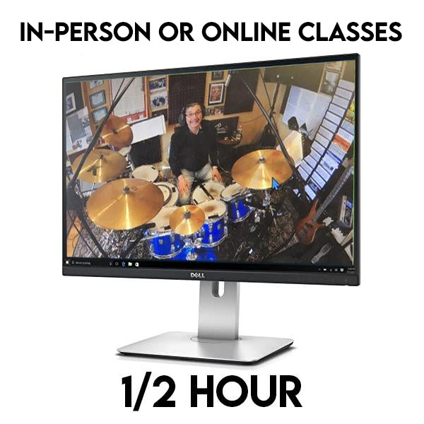 1/2 Hour Online Lessons