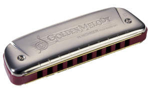 542 Hohner Golden Melody Harmonica