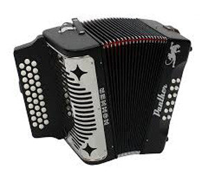 HA-3100 Hohner Panther Diatonic Accordian