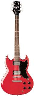 Jay Turser 50 Standard Series Electric Guitar - Trans Red
