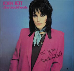 Joan Jett and the Blackhearts I Love Rock & Roll Vinyl LP