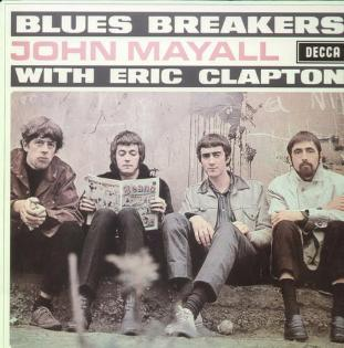 John Mayall Blues Breakers with Eric Clapton Vinyl LP (Import)