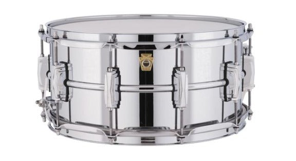 Ludwig LM402 Smooth Chrome Plated Aluminum Snare
