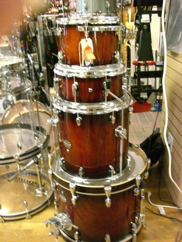 Ludwig Element  Birch 4-Piece Shell Pack Drum Set