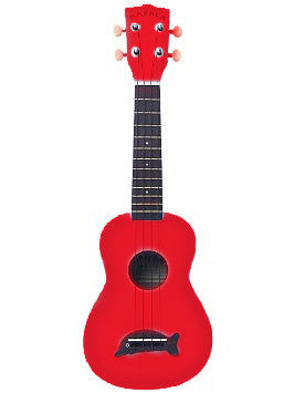 MK-SD (Dolphin) Soprano Ukulele in Candy Apple Red