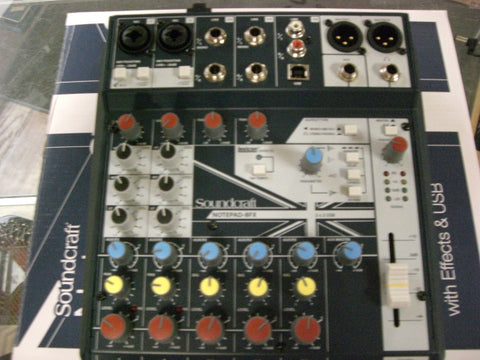 Soundcraft Notepad-8FX Mixer with Effects