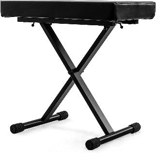 Nomad NKB-5505 Deluxe X-Style Keyboard Bench with 265-Pound Weight Capacity