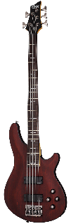 Schecter OMEN-5 Bass Guitar in Walnut Satin