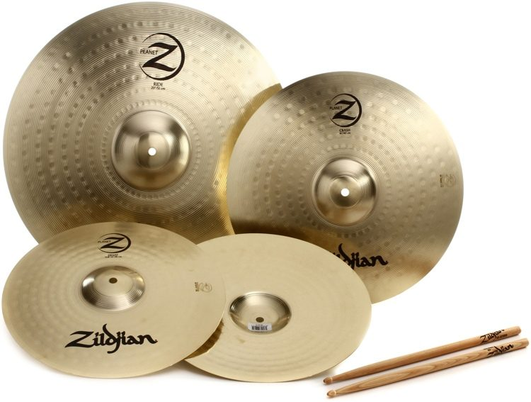 "Zildjian Planet Z 3-piece Cymbal Set -14"", 16"", 20"" set"