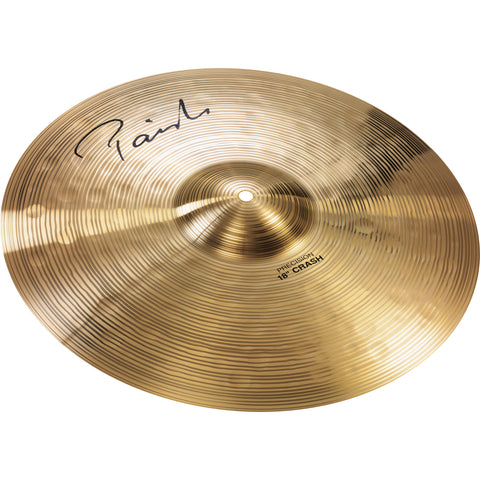 "4101418 PAISTE 18"" SIGNATURE PRECISION CRASH CYMBAL"