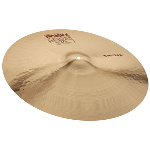 "1061218 PAISTE 18"" 2002 SERIES THIN CRASH CYMBAL"