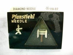 PFANSTIEHL PHONOGRAPH NEEDLE 118-D7