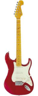 Tagima TG-530 Woodstock Series Strat Style Electric in Metallic Red