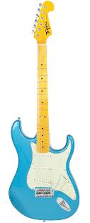 Tagima TG-530 Woodstock Series Strat Style Electric in Lake Placid Blue