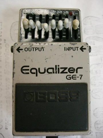Vintage Boss GE-7 Graphic Equalizer Pedal Made in Japan