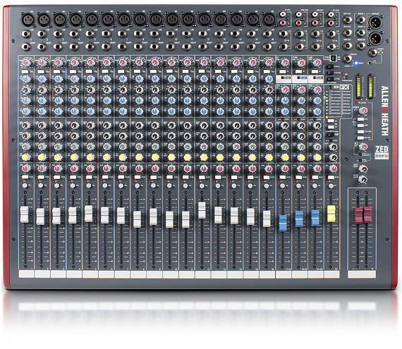 ZED-22FX Multipurpose Mixer with FX for Live Sound and Recording