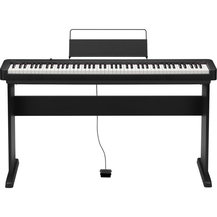 Casio CDP-S150 Compact Digital Piano with CS-46 Stand in Black