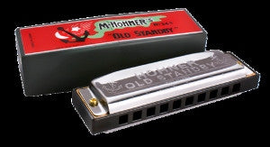 Hohner Old Stand By Harmonica Key Of D
