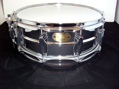 LB400B Ludwig 5x14 Chromed Brass Snare