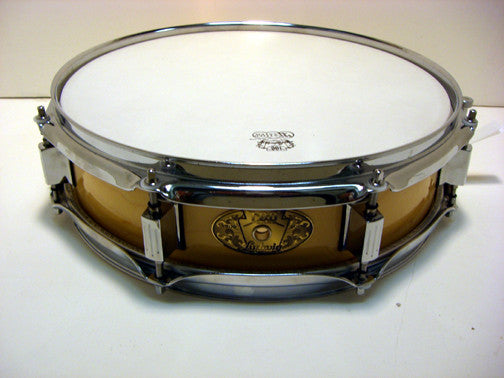 LS555 Ludwig 3x13 Picolo Maple/100 Yr. Anniv. Badge