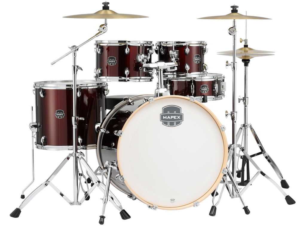 Mapex Storm Rock 5-Piece Drum Set in Red