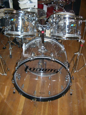 Ludwig Vistalite Shell Pack
